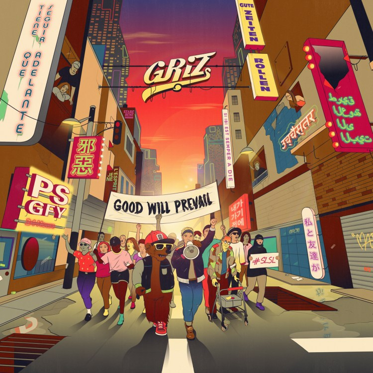 GRiZ Good Will Prevail Artwork