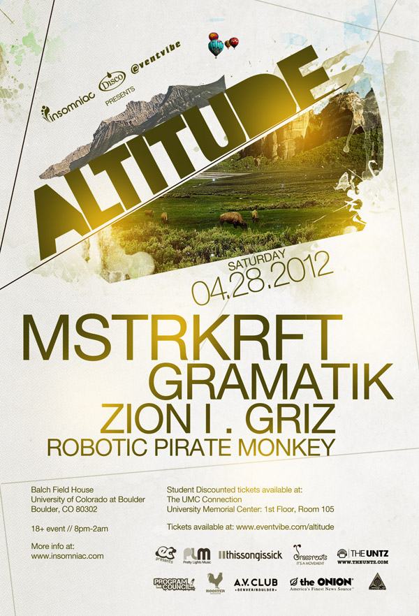 Insomniac Presents Altitude : MSTRKRFT
