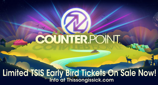 Limited TSIS Discounted Early Bird Tickets for Counterpoint Music Festival On Sale Now