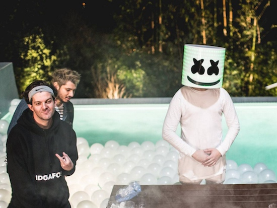 "Marshmello & Omar Linx ""Keep It Mello"" In New Music Video Ft. Dillon Francis"
