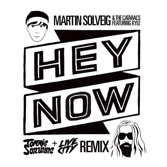 Martin Solveig & The Cataracs - Hey Now feat. Kyle (Tommie Sunshine & Live City Remix) : Huge Electro House Remix