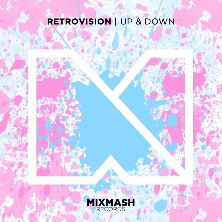 RetroVision Up & Down Artwork