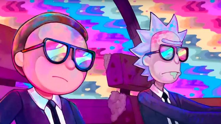 rick and morty run the jewels