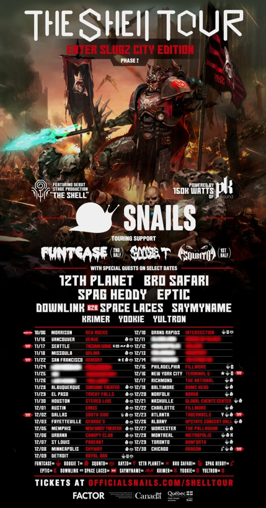 Snails The Shell Tour