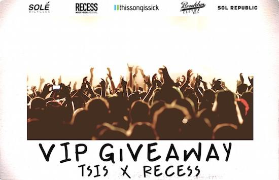 TSIS x RECESS VIP Giveaway Ft. Tory Lanez