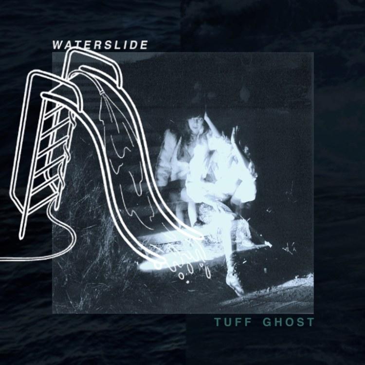 Tuff Ghost waterslide art