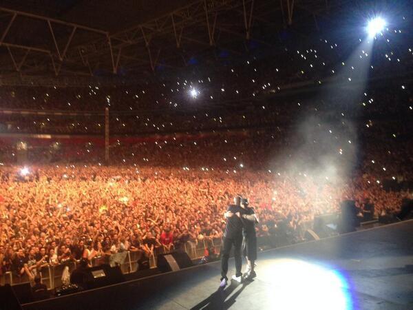 Watch Eminem Bring Out Dr. Dre For Surprise Reunion At His Wembley Stadium Concert