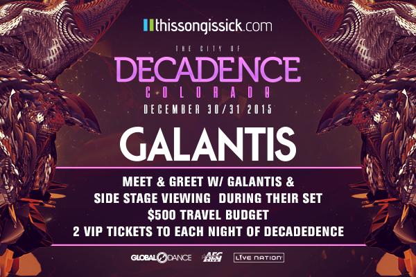 Win A Flyaway Trip To Decadence Festival & Meet Galantis