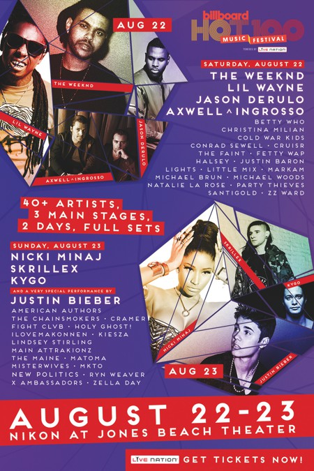 Win The Ultimate VIP Weekend To Billboard Hot 100 Music Festival With Travel Budget & Hang With Kygo