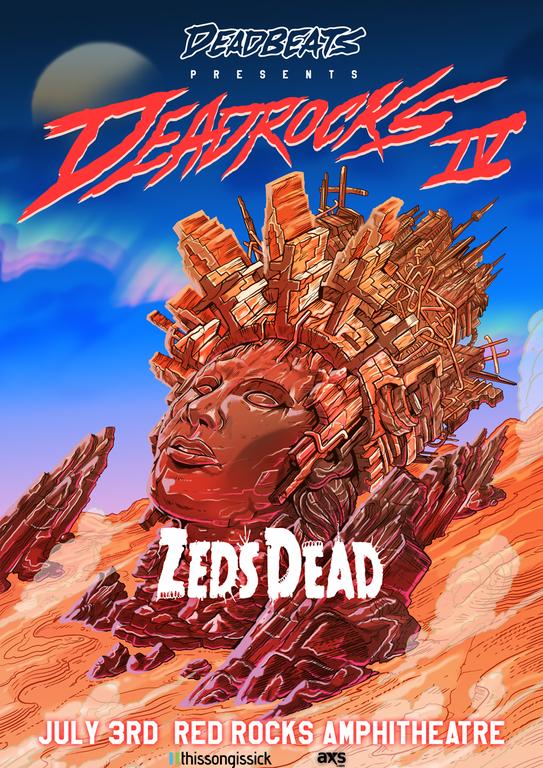 Zeds Dead Red Rocks 2017