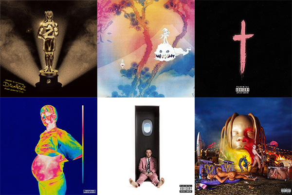 Best Hip-Hop albums 2018