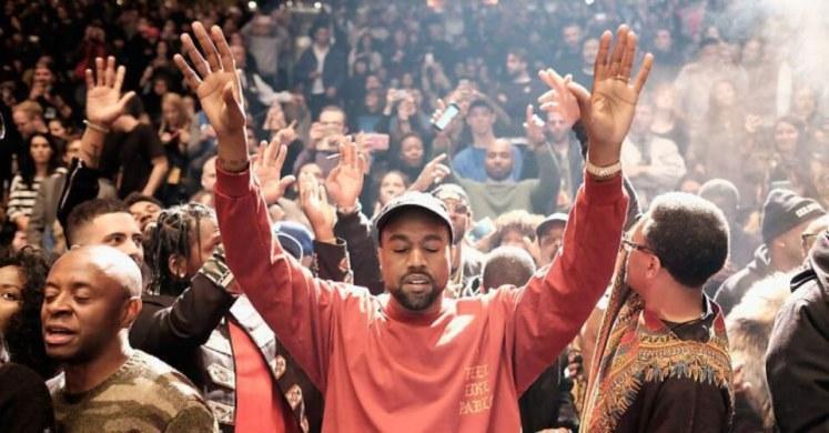 Kanye Praying