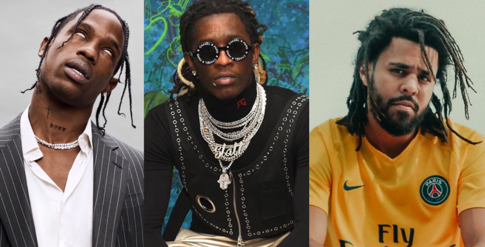 Young Thug, J. Cole, Travis Scott Release New Song