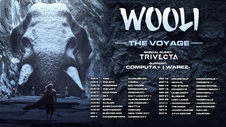 Wooli The Voyage Tour