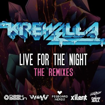 krewella pegboard live for the night art