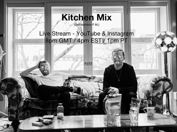 disclosure kitchen mix livestream