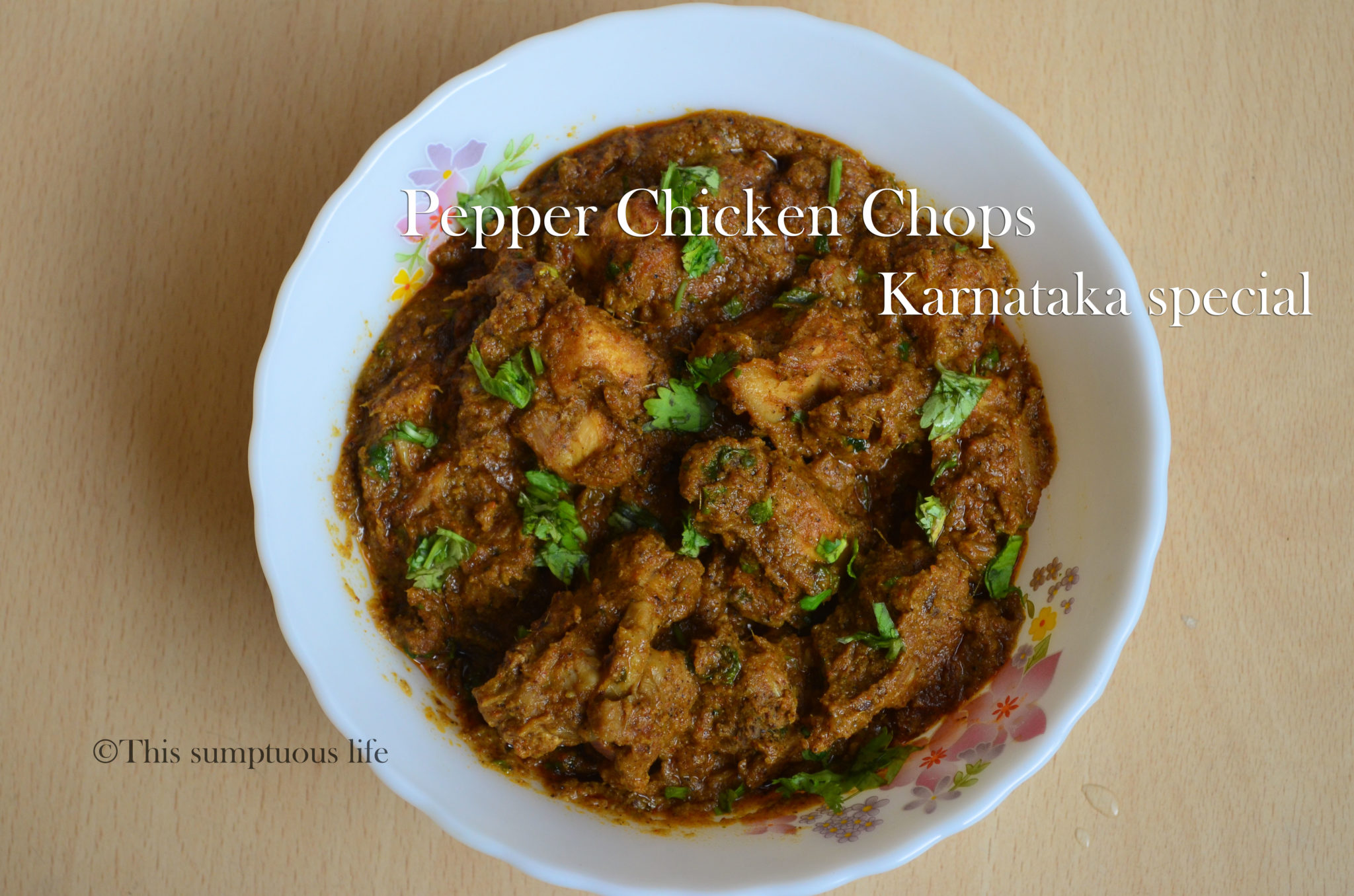 Pepper chicken chops karnataka style grandmas special authentic pepper chicken chops karnataka style grandmas special authentic chicken chops recipe this sumptuous life forumfinder Image collections