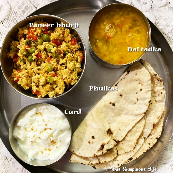 Paneer Bhurji Indian Cottage Cheese Recipe This Sumptuous Life