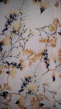 Zara floral print top pattern