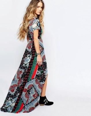 ASOS printed maxi dress 2