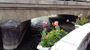Flower bridge in Annecy (2)