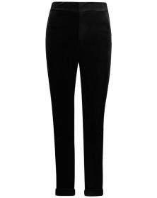 boohoo-black-velvet-skinny-trousers-2