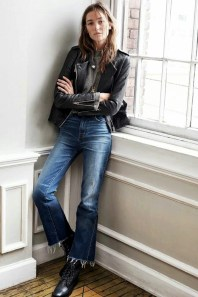 crop-flare-jeans-leather-jacket