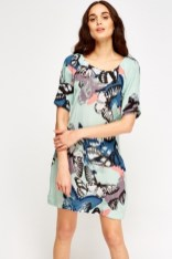 Everything 5 Pounds butterfly print dress