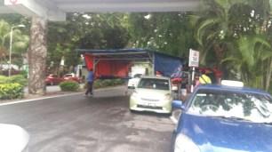 Batu Ferringhi night market set up