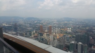 Berjaya Times Square hotel from KL Tower