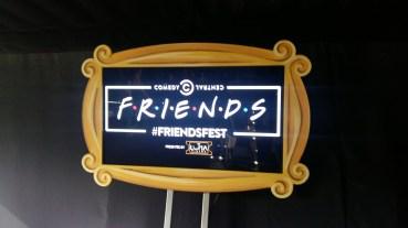 Friendsfest set tour