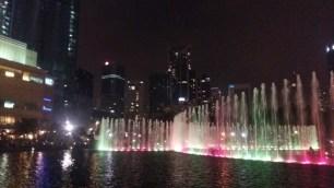 KLCC park fountains light show 8