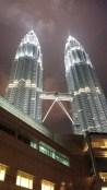 Petronas Towers at night 2