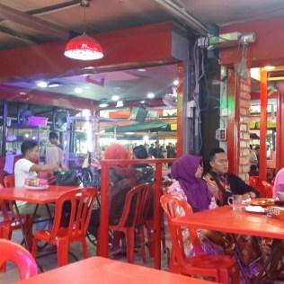 Restaurant in Jalan Alor Kuala Lumpur