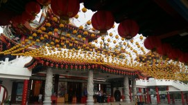 Thean Hou temple lanterns