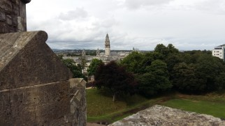 Cardiff Castle view from the Norman Keep 5