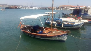 Gythio fishing boat