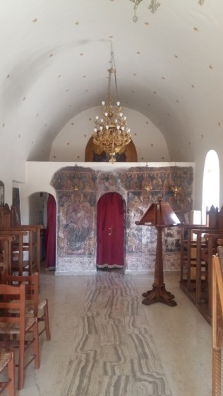 Inside Areopoli church