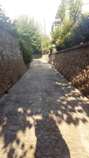 Pathway to Villa Kosta