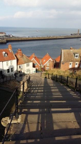 View down 199 steps