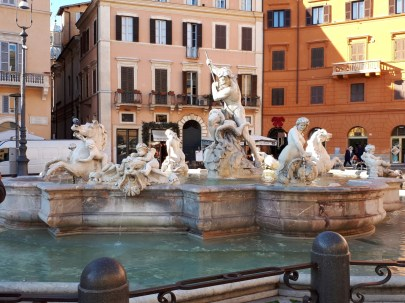Fountain of Neptune Piazza Navona