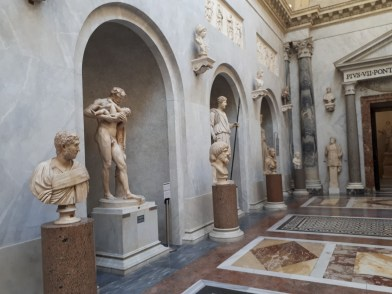 Gallery of Statues at the Vatican Museums