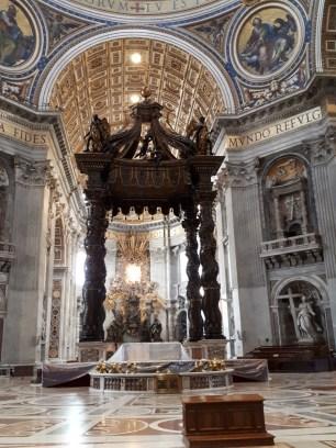 St Peters Basilica Baldacchino