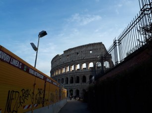 Colosseum and new train line