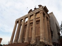 Columns of Roman temple