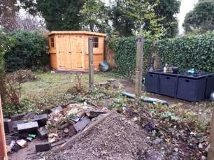 Garden in progress 1
