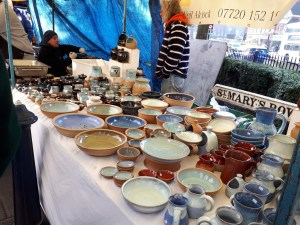 Moseley Farmers Market pottery