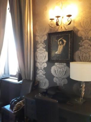 Bedroom at Antica Dimora del Cinque Lune Rome