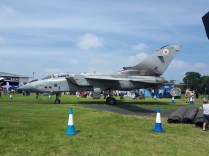 Fighter jet Cosford airshow
