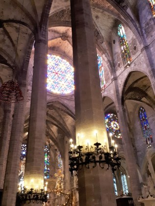 Inside Palma cathedral 10